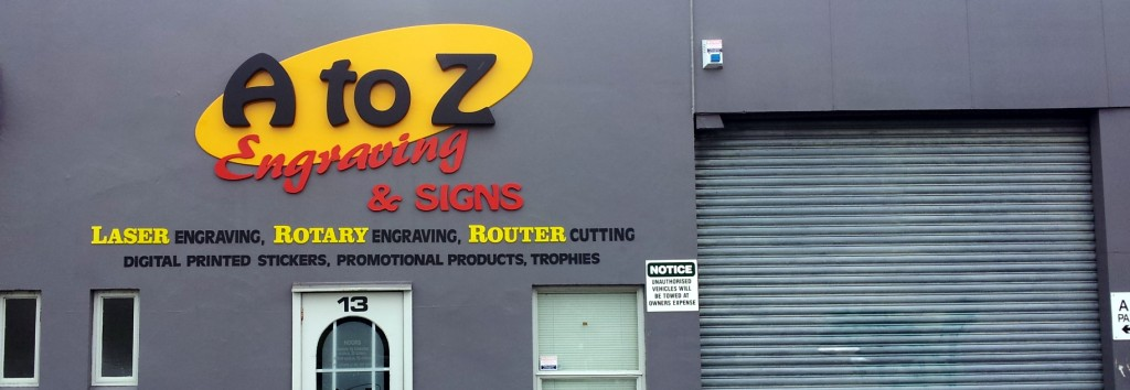 Engravers & Signwriters Christchurch | A to Z Engraving